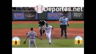 Las mejores peleas de béisbol en la MLB. .