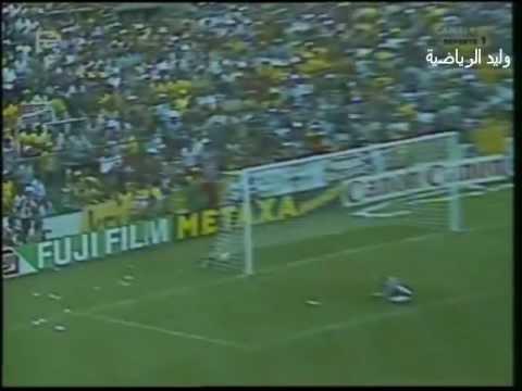 البرازيل ـ الأرجنتين 3 ـ 1 كأس العالم 82 م ـ  هدف دياز