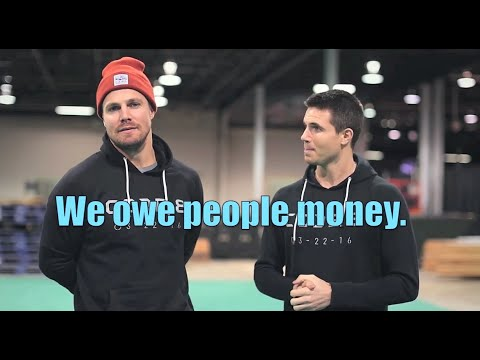 Stephen & Robbie HI MR. AMELL Humor Part 2