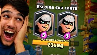JOGUEI O NOVO DESAFIO DA BANDIDA DO CLASH ROYALE!!