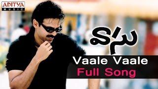 Vaale Vaale Full Song  ll Vaasu Songs ll Venkatesh, Bhoomika