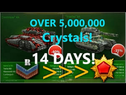 TANKI ONLINE RECRUIT TO GENERALISSIMO IN ONLY 14 DAYS NEW WORLD RECORD