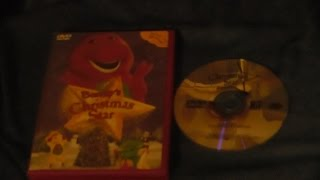 Opening and Closing to Barney's Christmas Star 2002 DVD