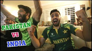 PAKISTAN VS INDIA CRICKET CHAMPIONSHIP REACTION! *Message To All The Haters*