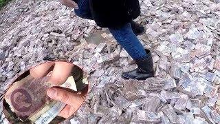 पुरानी खदान में छिपा रखे थे अरबों रुपयों के बंडल, इस हाल में निकले बाहर