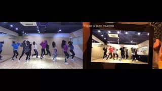 What is Love? Dance practice - Original vs Demo