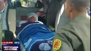 Joven enfermera es agredida a machetazos por su ex pareja en Jarabacoa