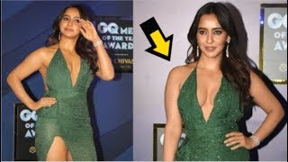 Neha Sharma Looks HOT Wearing BOLD Dress At GQ AWARDS 2019