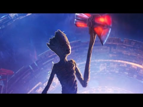 Here s How Groot Could Lift Thor s Hammer In Infinity War