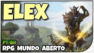 Elex - SKYRIM FUTURISTICO? RPG Mundo Aberto - Gameplay de Elex em Português PT-BR