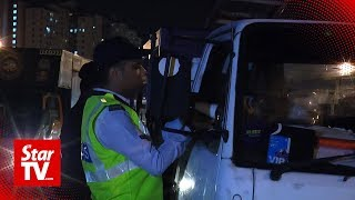 Nine held after testing positive for drugs in traffic ops