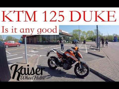 KTM 125 Duke. Watch this before you buy