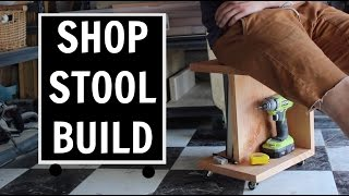 Shop Stool Build / Wood Working Projects