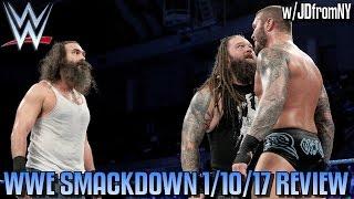 WWE Smackdown 1/10/17 Review, Results & Reactions: Cena vs Corbin, Wyatt Family vs American Alpha