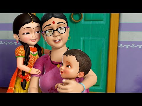 Naani Maa | Hindi Rhymes for Children | Infobells