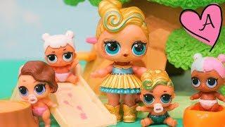 Muñecas LOL Surprise Bebés - Cómo hacer una hermanita para Luxe, muñeca ULTRA RARA Oro 24K