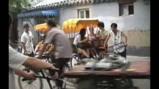 Beijing Hutong Rickshaw Ride!