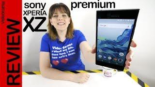 Sony Xperia XZ Premium review -el móvil 4K con súper cámara-