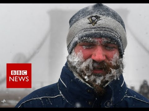 Xxx Mp4 Bomb Cyclone Brings Travel Chaos And Deaths To US North East BBC News 3gp Sex