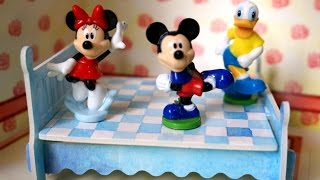 Mickey Jumping on the Bed | Five Little Micky & Friends Nursery Rhymes music video children