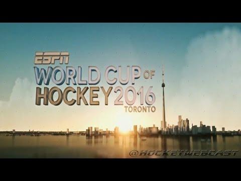ESPN World Cup Of Hockey Intro 2016 (HD)
