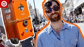 Scott Rogowsky Shows You Weird Sports   Outhouse Races