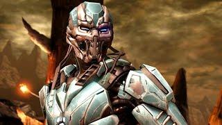 Mortal Kombat X - Triborg Klassic Ladder Walkthrough and Ending (Cyber Sub Zero)