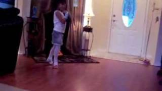 Christina ballerina 4 years old.MOV