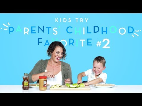 Kids Try Their Parents Favorite Childhood Foods Part 2 Kids Try HiHo Kids
