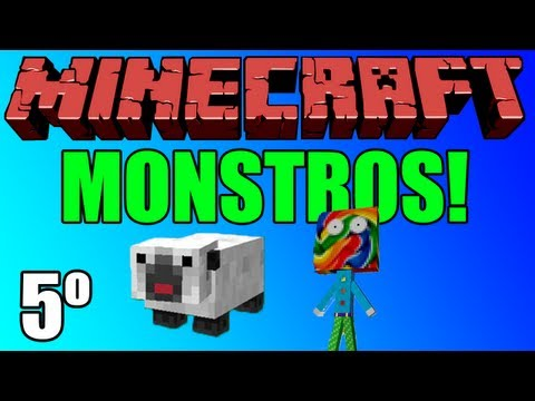 Minecraft Aventura Monstros Episódio 5 O Porquinho da India e o Castelo