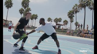 The Professor and Bone Collector Take On All Challengers at Venice Beach