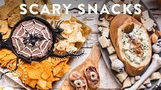 3 SCARY Halloween Party Snacks - Honeysuckle