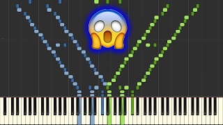 Star Wars: Cantina Band [PRO Piano Tutorial] (Synthesia/Sheet Music) //AtinPiano