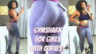 GYM SHARK FLEX LEGGINGS FOR CURVES? TRY ON + GYM!