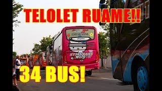 [RAME TELOLET!!] PENGAWALAN 34/56 Unit Bus KEKINIAN Rombongan PT Gudang Garam