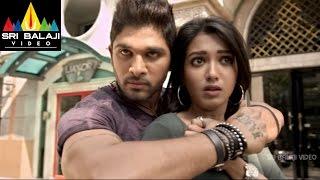 Iddarammayilatho Movie Allu Arjun Action   Allu Arjun, Amala Paul, Catherine   Sri Balaji Video