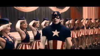USO Girls  Captain America - Star Spangled Man