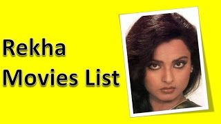 Rekha Movies List