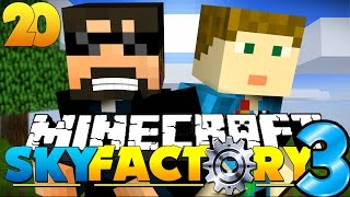 Minecraft: SkyFactory 3 - EATING BRAINS AND INSANITY!! [20]