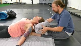 Upper Back Neck Pain Relief Techniques Advanced Thai Massage 1/3
