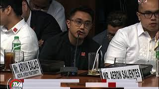 Aegis Jvris, mga magulang ni 'Atio', nagkaharap sa Senado