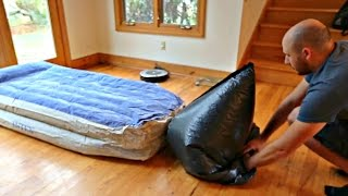 How to Inflate an Air Mattress with Garbage Bag