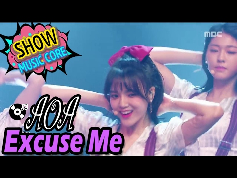 Download [HOT] AOA - Excuse Me, Show Music core 20170204