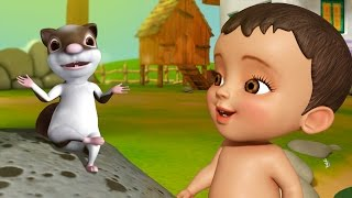Udatha Udatha | Telugu Rhymes for Children | Infobells