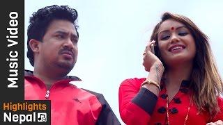 Internet Ko Maya by Aashish B.C, Devi Gharti | New Nepali Lok Dohori Song 2017/2074