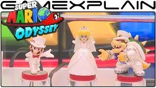 NEW Super Mario Odyssey amiibo Announced! (Wedding Mario, Peach, & Bowser)