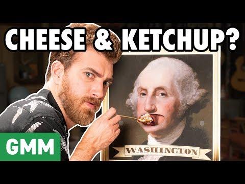 Weirdest Foods Eaten By Presidents GAME
