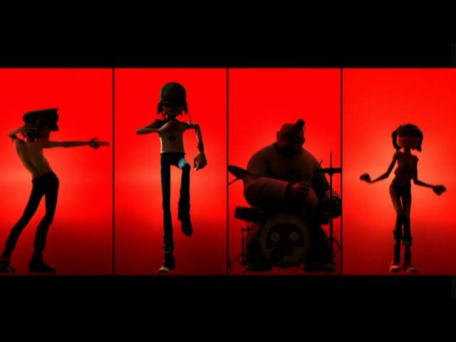 Gorillaz Brit's awards  - Dirty Harry