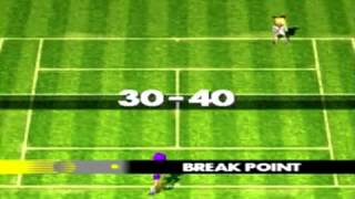 Namco Tennis Smash Court sur Playstation