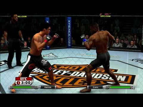 UFC 2009 Undisputed Rashad Evans vs Lyoto Machida TRUE HD QUALITY